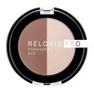 "Тени для век ""Relouis Pro Eyeshadow Duo"" (тон: 104)"