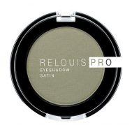 """Тени для век """"Relouis Pro Eyeshadow Satin"""" (тон: 35, green tea)"""