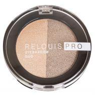 "Тени для век ""Relouis Pro Eyeshadow Duo"" тон: 112"