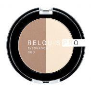 "Тени для век ""Relouis Pro Eyeshadow Duo"" тон: 102"