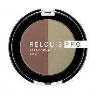 "Тени для век ""Relouis Pro Eyeshadow Duo"" тон: 110 (10689940)"