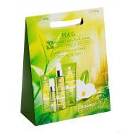 """Подарочный набор """"Green Tea Catechin"""" (гель для снятия макияжа, сыворотка для лица, крем для рук) (10915886)"""