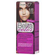 """Краска для волос """"Belita Color"""" тон: 6.65, гранатово-красный (10324031)"""