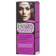 """Краска для волос """"Belita Color"""" тон: 6.66, бордо (10324029)"""