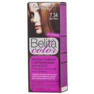"""Краска для волос """"Belita Color"""" тон: 7.34, капучино (10324032)"""