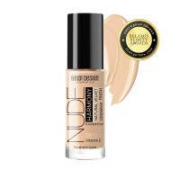 """Тональный крем для лица """"Nude Harmony"""" тон: 201, light beige (10323842)"""