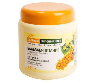"""Бальзам-питание для волос """"Облепиха"""" (450 мл) (10493075)"""